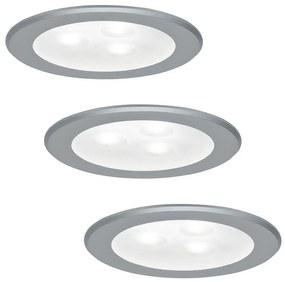 Paulmann 93544 - SET 3x LED Lampă încastrată MICRO LINE 3xLED/3W/230V