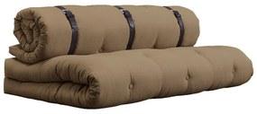Canapea extensibilă Karup Buckle Up, maro