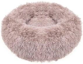 Culcus moale, pentru caine/pisica, cafeniu, 80 cm, Springos