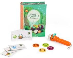 """Set proiector de povești pentru copii Moulin Roty """"Jungle"""""""