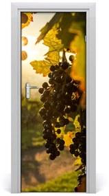 Autocolante pentru usi Peisaje pentru viticultura