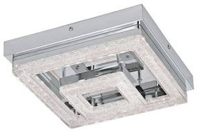 Eglo 79049 - Plafonieră LED de cristal NOVEL 1xLED/12W/230V