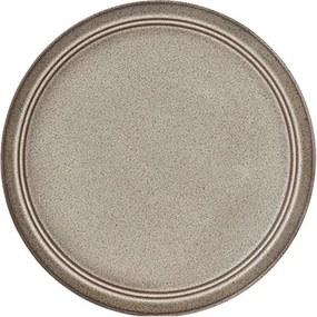 Platou Terra din ceramica maro 27 cm