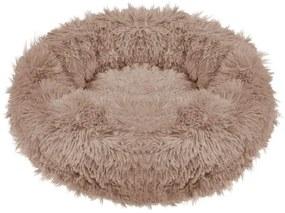Culcus moale, pentru caine/pisica, maro deschis, 60 cm, Springos
