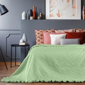 Cuvertură AmeliaHome Tilia Mint, 260 x 240 cm, verde