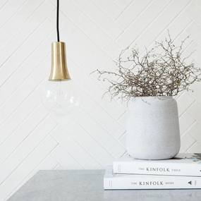Lampa Suspendata Aurie Funnel - Alama Auriu Diametru(7/4cm) x Inaltime(11.5cm)