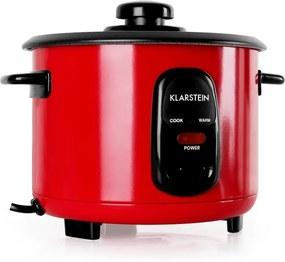 Klarstein KLARSTEIN OSAKA 1, roșie, oală pentru orez, 1 litru, funcția de păstrare la cald