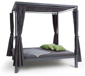 Senator Lounge, pat de grădină cu pergolă 188x208x205cm gri