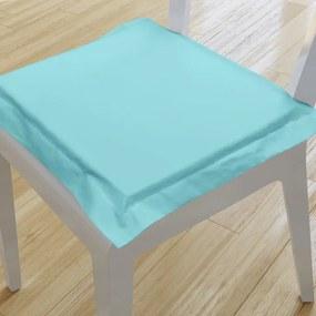Goldea pernă pentru scaun cu ornamente 38x38 cm - turcoaz 38 x 38 cm