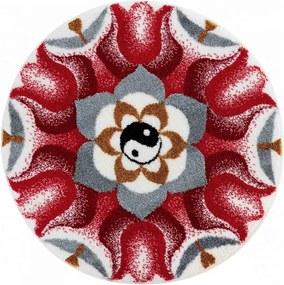 Covor cu ajustare anti-alunecare Mandala ARMONIA CONTRADICTIEI 100 cm