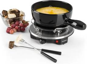 Klarstein SIRLOIN RACLETTE cu fondue, vas ceramic, 1200 w, negru
