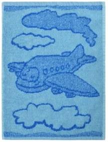 Prosop copii Plane blue, 30 x 50 cm