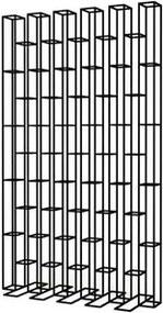 Biblioteca cu picior din metal negru 165 cm Bricks Pols Potten