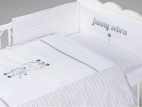Klups - Lenjerie patut copii Funny zebra H196