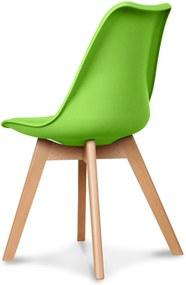 Scaun SCANDY Verde din Plastic 48cm OPJET PARIS - Plastic Verde Lungime (48cm) x Latime (43cm) x Inaltime (83cm)