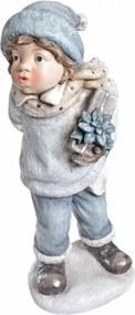 Statuetă decorativă din ceramică Ewax Garcon