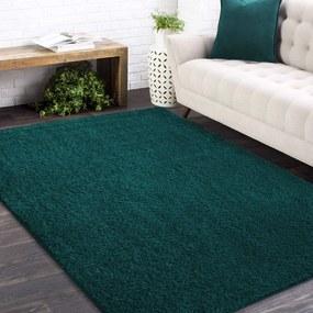 Covor elegant de culoare verde închis Lăţime: 200 cm | Lungime: 290 cm