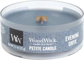 WoodWick lumanare parfumata Petite Evening Onyx