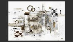 Bimago Fototapet - Artistic Riddle 300x210 cm