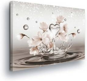 Tablou - Flowers on Water Level II 100x75 cm