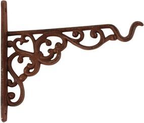 Suport din fontă pentru suspendat ghiveci Esschert Design, înălțime 17,8 cm