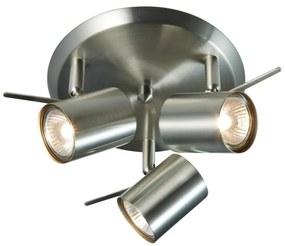 Spot LED Markslöjd 105486 HYSSNA 3xGU10/50W/230V crom