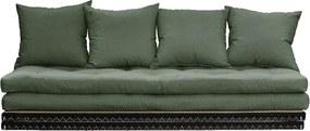 Canapea variabilă Karup Design Chico Olive Green
