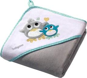 Prosop de baie cu gluga 76x76 cm Hooded Towel Grey