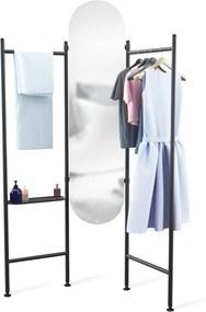Oglinda de podea pliabila VALA - Negru