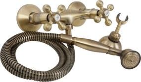 Baterie dus CasaBlanca RETRO BRE77, finisaj bronz lucios