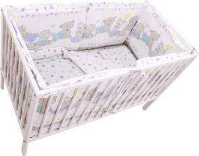 Lenjerie Teddy Love Stars 120x60 cu laterale inalte
