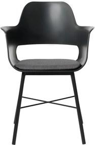 Scaun dining Unique Furniture Wrestler, negru