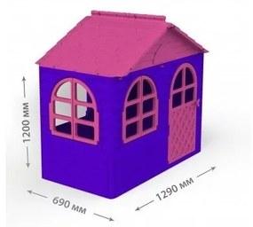 MyKids - Casuta de joaca  02550/10 Pink/Violet - Small