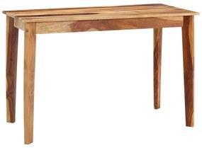 282852 vidaXL Masă de bucătărie, 118 x 60 x 76 cm, lemn masiv de sheesham