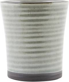 Cana Ceai din Portelan - Portelan Gri diametru(8cm) x inaltime(9cm)