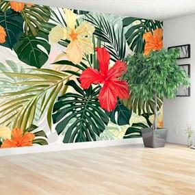 Fototapet Plante Hawaiian