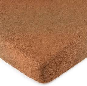 Cearșaf pat 4Home, din bumbac, maro, 160 x 200 cm, 160 x 200 cm