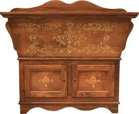 Comoda Antiquita din lemn maro 107x50x100 cm