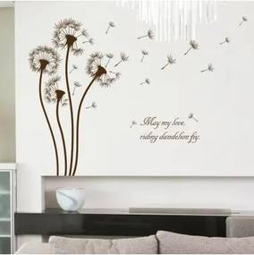 Sticker perete Dandelion Home Decor 50x70cm