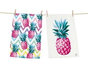 Home 2 bucati sorturi de bucatarie Butter Kings Pink Pineapple