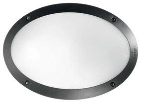 Ideal lux - Iluminat tehnic 1xE27/23W/230V IP66 negru