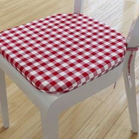 Goldea pernă pentru scaun rotundă decorativă 39x37cm - menorca - model 006 39 x 37 cm