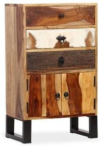 244934 vidaXL Servantă din lemn masiv de sheesham, 50 x 30 x 86 cm