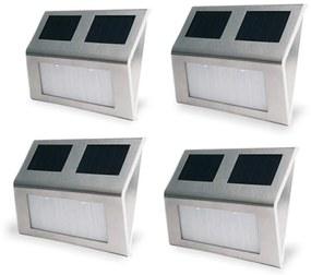 4 buc Lampa solara de perete pentru exterior
