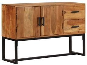 246142 vidaXL Servantă, lemn masiv de acacia, 115 x 30 x 70 cm, maro