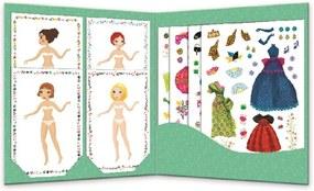 "Set stickere pentru copii Djeco ""Designer vestimentar"""