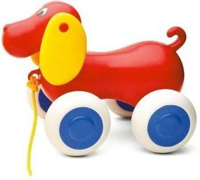 Masina pentru copii VikingToys Caine 1310-red, Multicolor, 14 cm