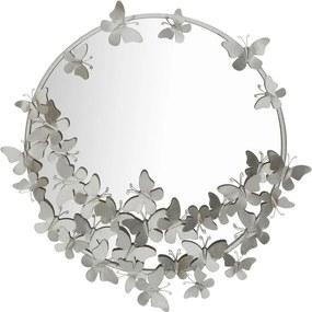 Oglindă de perete Mauro Ferretti Round Silver, ø 74 cm, argintiu