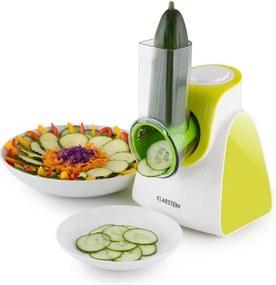 Klarstein Carrot & Rock, 150W, verde, tăietor de legume electric, 5 extensii