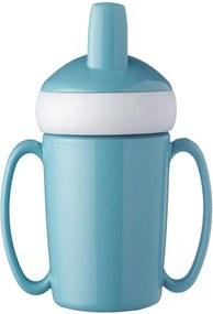 Sticlă pentru copii Rosti Mepal Trainer Mug, albastru deschis